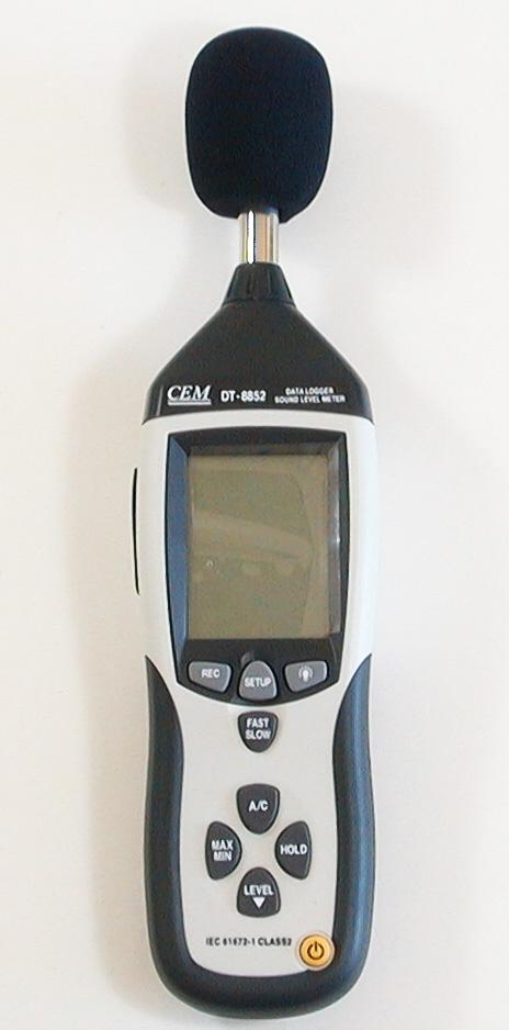 CEM DT-8852 Industrial High Accuracy Digital Sound Noise Level Meter Data Logger with USB