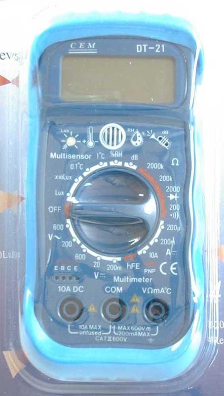multimeter all in one front