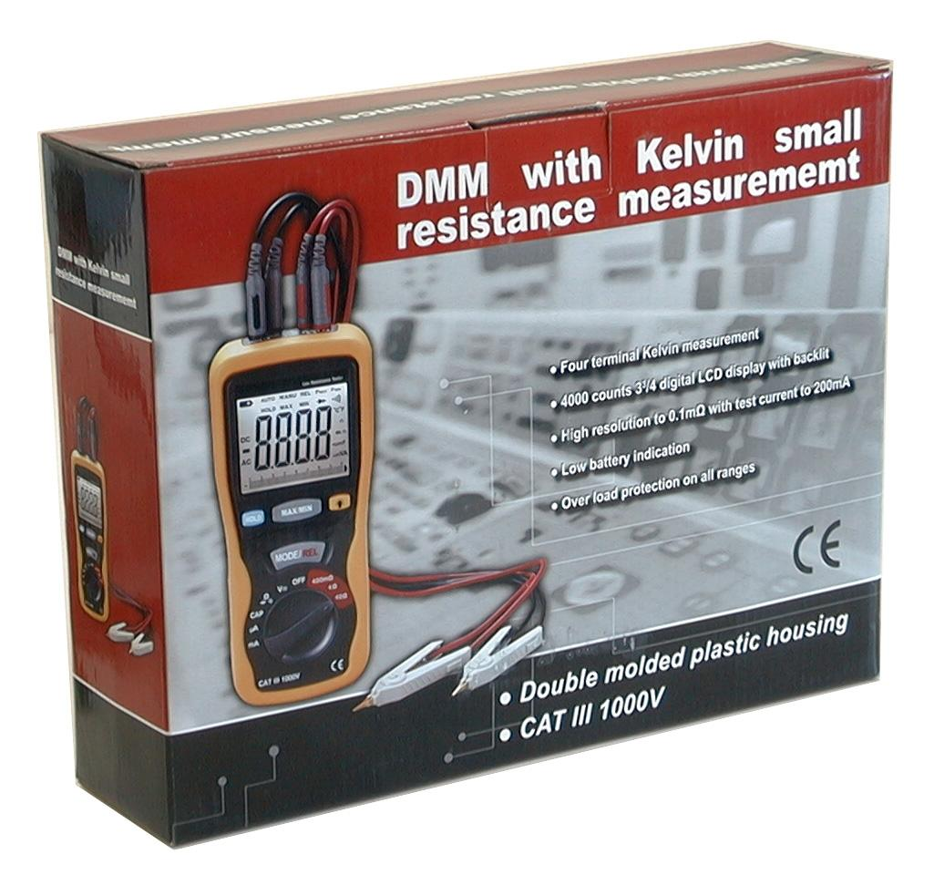 CEM DT-5302 DMM with Capacitance Voltage Current Small Resistance Kelvin 4-wire Meter