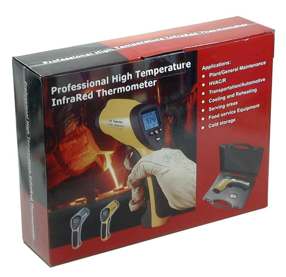 CEM DT-8839 Professional 50:1 IR Laser Thermometer up to 1832 deg F 1000 deg C