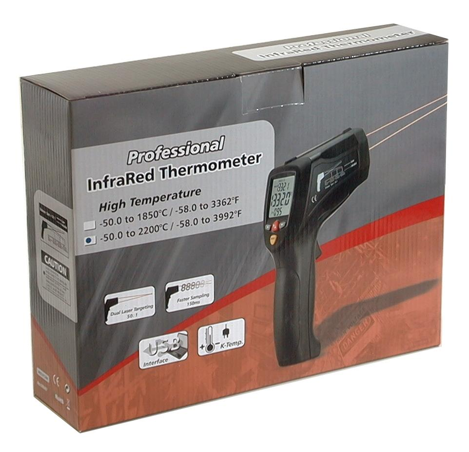 CEM DT-8869H Professional 50:1 IR Dual Laser Thermometer