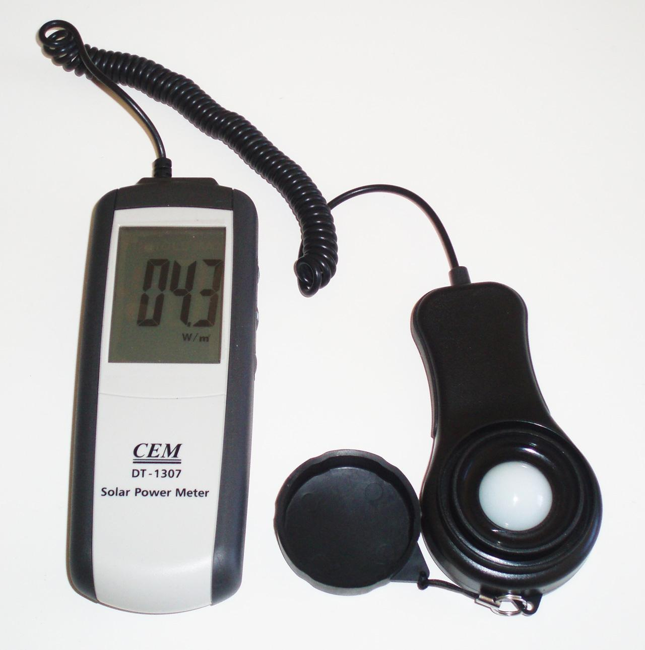 DT-1307 Solar Power Sunlight Meter