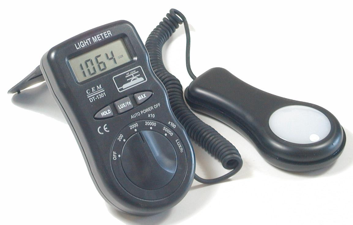 light meter lux