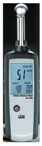 CEM DT-128M Non-Contact Moisture Meter Dampness Indicator