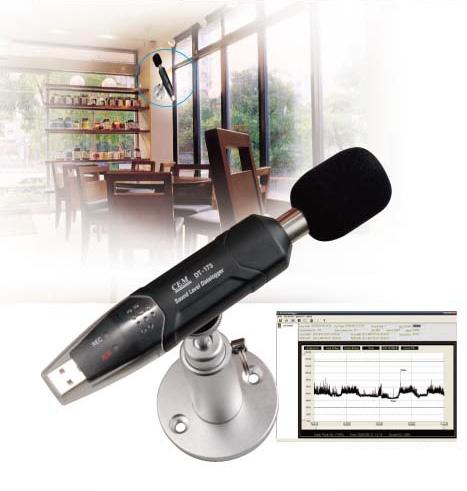 usb sound data logger