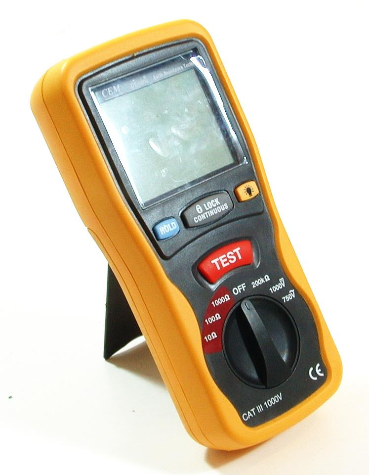 ground electric tester meter