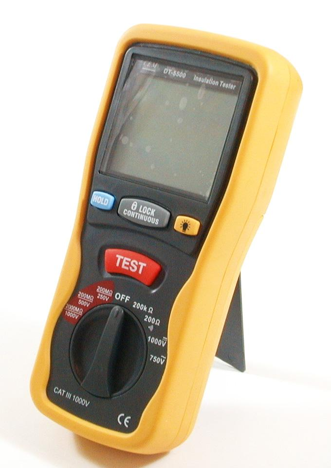 digital insulation meter